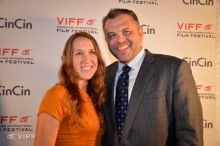 With Chris McKenna at VIFF 2012 Canadian Images Gala