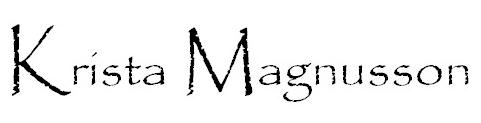 Krista Magnusson logo